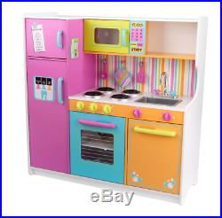 Kitchen Toy Play Set For Girls Children Kids Cooking Playset Pretend Play Toys