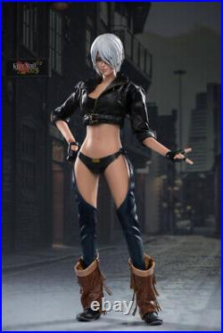Kitty Stuff 1/6 TS003 Lady Justice Angel Girl Seamless Action Figure Model