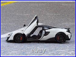 LCD 1/18 Mclaren 600LT Diecast CAR MODEL Girls Gift Collection White/Blue/Orange