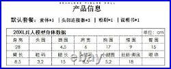LDDOLL 1/6 Girl Flexible Silicone Body 28XL Pink Skin Seamless 12 Figure Body