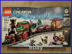LEGO 10254 Winter Holiday Train Brand New Sealed Box Free Shipping Christmas