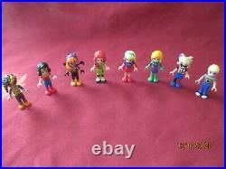 LEGO Friends DC Super Hero Minifigures Lot. Batgirl, Super Girl, Wonder Woman