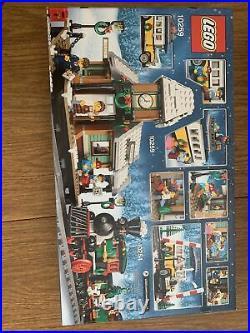 LEGO Winter Village Station & Winter Holiday Train Sets 10254 & 10259 NEW Sealed