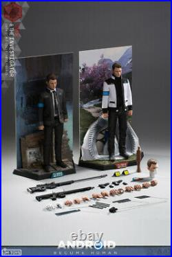 LIMTOYS RK900 1/6 LIM009 Detroit Become Human Negotiat Expert Double Figure Toy