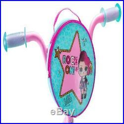 LOL Suprise Kids Bike 16-inch Wheel Girls Pink Outdoor Play Toys