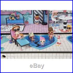 LOL Surprise Big Doll House Wooden Dollhouse Furniture Set Playset Toy For Girls