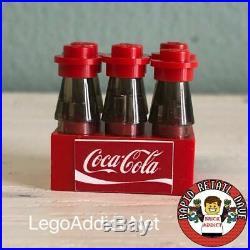 Lego Coca Cola Vending Machine Custom Set w Beverages for Boys, Girls & Adults