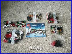 Lego Creator 10254 Winter Holiday Train SEALED BAGS ONLY NO TRACKS NO BOX
