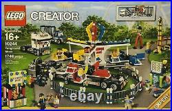 Lego Creator Expert Fairground Mixer 10244 Set Retired NIB Factory Sealed