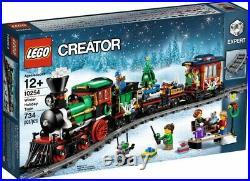 Lego Creator Winter Holiday Train (10254) Building Kit 734 Pcs