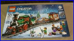 Lego Creator Winter Holiday Train (10254) Building Kit 734 Pcs New withBox Wear