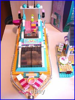Lego Friends Lot Sets Girl Princess 18 Minifigures Elves Pieces 3189 3186 3184