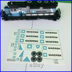 Lego Maersk 10219 Train Locomotive, w Gift Sticker Sheet, For Boys Girls & Adult