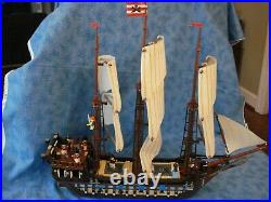 Lego Pirates II Imperial Flagship 10210 USED No bklts 14+boys girls discontinued