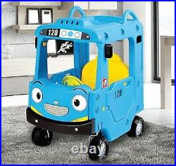 Little Bus TAYO ROOF CAR Non-Noise Ride Indoor Car Kids Toy Korean TV Animation