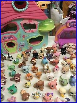 Littlest Pet Shop Collectible Lot 140 Pets Vintage House 100's Of Access