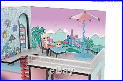 Lol Doll House Surprise Interactive Sounds Lights L. O. L Large Fun Toy For Girls