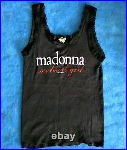 MADONNA VIRGIN TOUR SHIRT BOY TOY'85 SCREEN STARS MATERIAL GIRL PROMO vintage