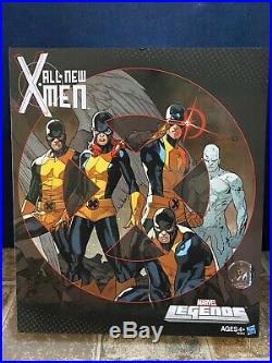 Marvel Legends ALL New X-MEN Cyclops Angel Marvel Girl Ice-Man Beast TRU