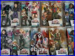 Marvel Rising Dolls Set Of 13 Ghost Spider, Quake, Ms. Marvel, Squirrel Girl NiB