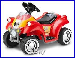 Mickey Mouse 6V Toddler KT1122 Hot Rod Ride On Car Kid Trax power for Boys Girls