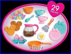 Minnie Mouse Kitchen Play Set Kids Girls Pink Pretend Toys Children Toddler Gift