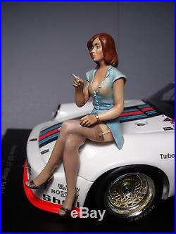 Miss 935 1/18 Painted Girl Figure By Vroom For Spark Or Autoart