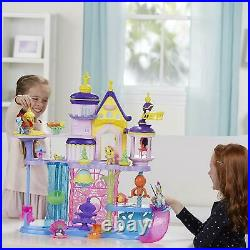 My Little Pony Castle Canterlot and Seaquestria Ages 3+ Toy Doll House Play Gift