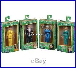 NECA Golden Girls 8Clothed 4 Action Figure Doll Set Dorothy Rose Blanche Sophia
