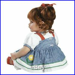 NEW Adora Toddler Daisy Delight 20 Girl Weighted Doll Gift Set Toy for Children