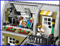 NEW BRAND Custom Restaurant Parisians Compitible TO 10243 Lego + Manual Book
