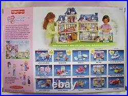 NEW Fisher Price Loving Family Dollhouse NEW ADDITIONS BED TIME BABY GIRL ROOM