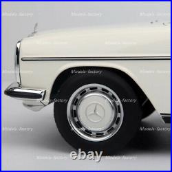 NOREV 1/18 BENZ 200 W123 Diecast Model Car Boys Girls Gifts Collection White