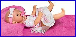 New Born Baby Doll Toy & Accessories Drink and wet functions Girls Play Set
