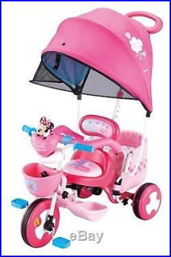 New Disney iBasic ides cargo dome Minnie Mouse a tricycle for baby F/S EMS