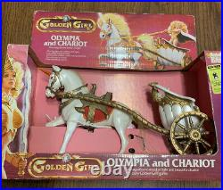 Olympia and Chariot Golden girls doll Guardians of the Gemstones 80's Galoob