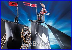 PLAYMOBIL Pirate Raiders' Ship, Gift For Boys And Girls, Classic Toy for kids