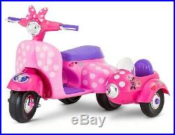 Power Wheels For Girls Minnie Mouse Ride On Toy Rideable Riding Toddler Girl New