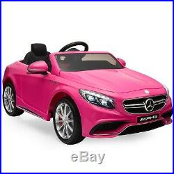 Power Wheels for Girls Mercedes Benz Driveable Cars Kids Rideable Car Ride On