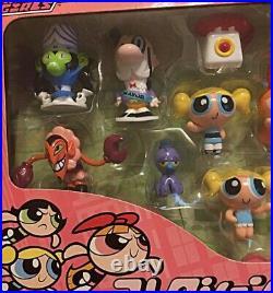 Powerpuff Girls Collection Figure Cartoon Network Figure SEGA TOYS PPG Rare USED