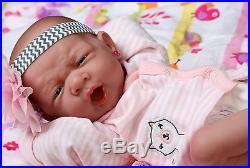 Preemie Reborn Baby Girl Full Body Realistic Lifelike Toy Gift Children Newborn