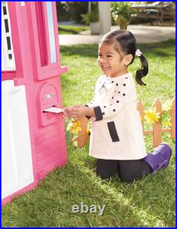 Princess Cottage Playhouse For Little Girls Toddler Kids Pretend Play House Pink