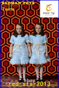 REDMAN TOYS 16 RM050 The Shining Twins Double Girl Soldier Figure Dolls