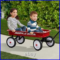 Radio Flyer 18Z 10 Inch Steel Wheels Timeless Classic Design Kids Red Wagon