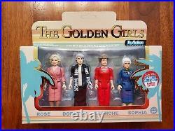 Rare Nycc 2016 Funko The Golden Girls Figure Set Rose Dorothy Blanche Sophia
