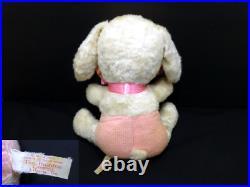 Rare Rushton Rabbit girl rubber face plush toy doll stuffed animal