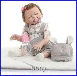 Reborn Baby Dolls Full Body Silicone Vinyl Girls Bebe Reborn Newborn Preemie Toy