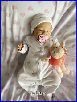 Reborn Baby Sleeping Girl Doll Lifelike Realistic Newborn Doll Kids Gift Toy Au