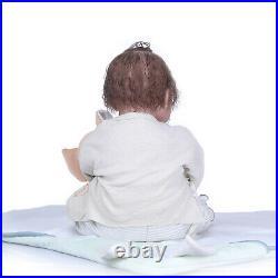 Reborn Dolls 20 Soft Silicone Newborn Baby Girl Handmade Realistic Dolls Toys