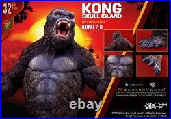 STAR ACE Toys SA9006 Kong 2.0 Skull Island Vinyl Statue Figure Regular Ver